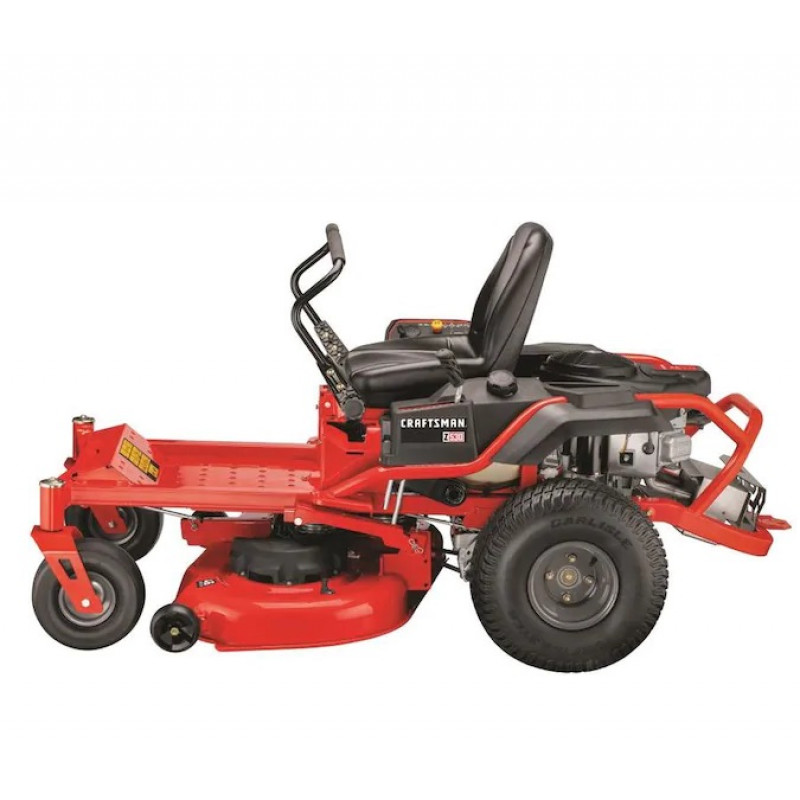 CRAFTSMAN Z530, V-Twin Dual Hydrostatic 46in-22HP with Mulching Capability