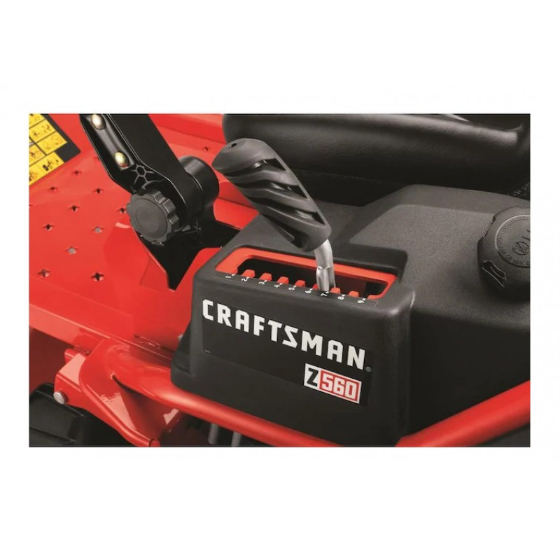 CRAFTSMAN Z560, V-Twin Dual Hydrostatic 54in-24HP with Mulching Capability