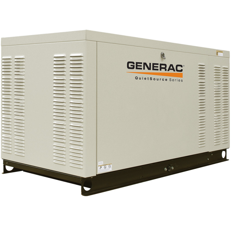 Generac Commercial Series 70 kW Standby Generator-277/480V-NG-SCAQMD Compliant