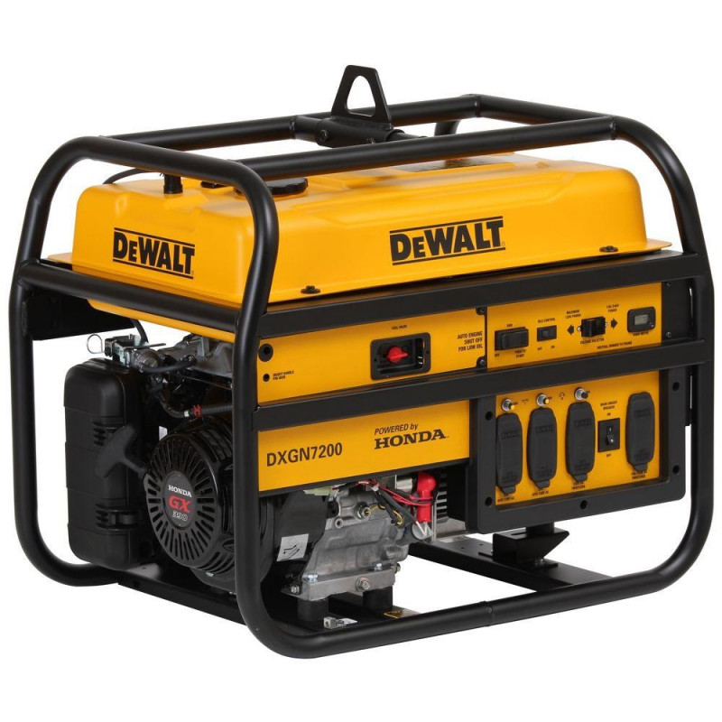 DeWalt DXGN7200 - 6100 Watt Electric Start Professional Portable Generator w/ Honda GX Engine