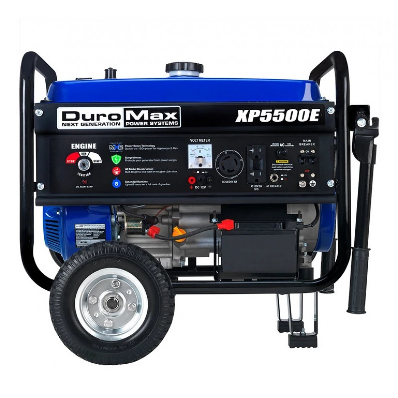 DuroMax XP10000EH - 8000 Watt Electric Start Hybrid Elite Dual Fuel Portable Generator