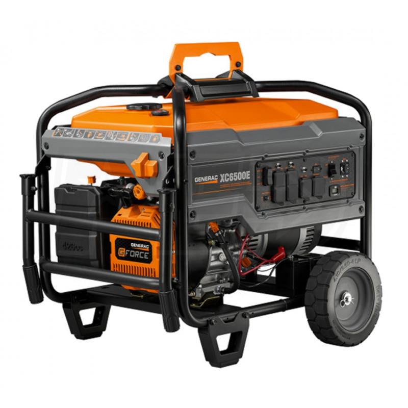 Generac XC6500E - 6500 Watt Electric Start Professional Portable Generator