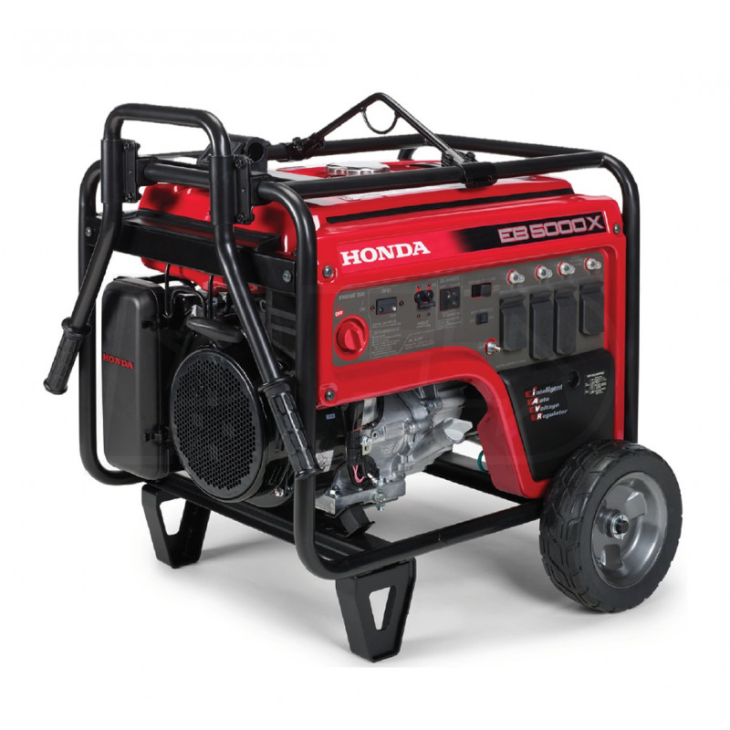 Honda EB5000 - 4500 Watt Portable Industrial Generator w/ GFCI Protection (CARB)