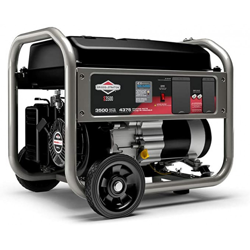 Briggs & Stratton 30676 120-Volt 3,500-Watt RV Gas Powered Portable Generator