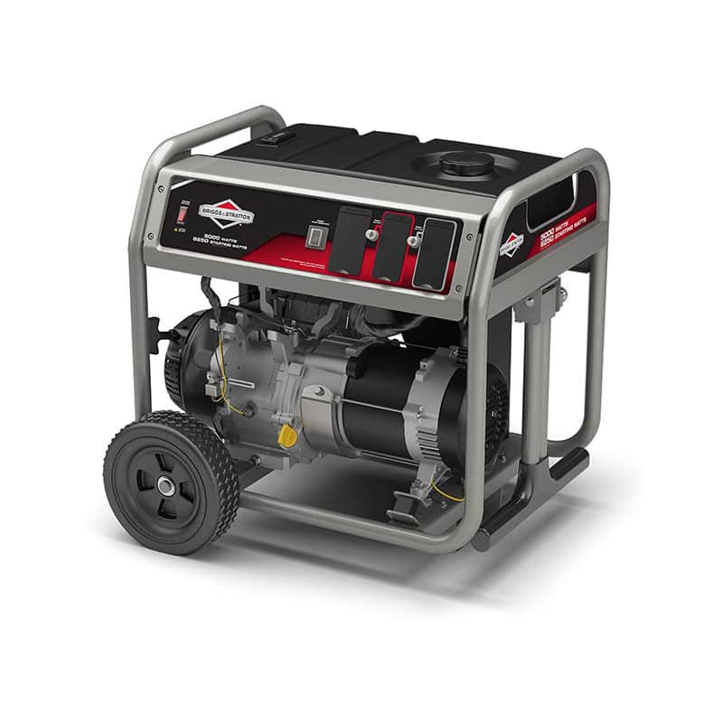 Briggs and Stratton 30681 5000-Watt 342cc Gas Powered Portable Generator