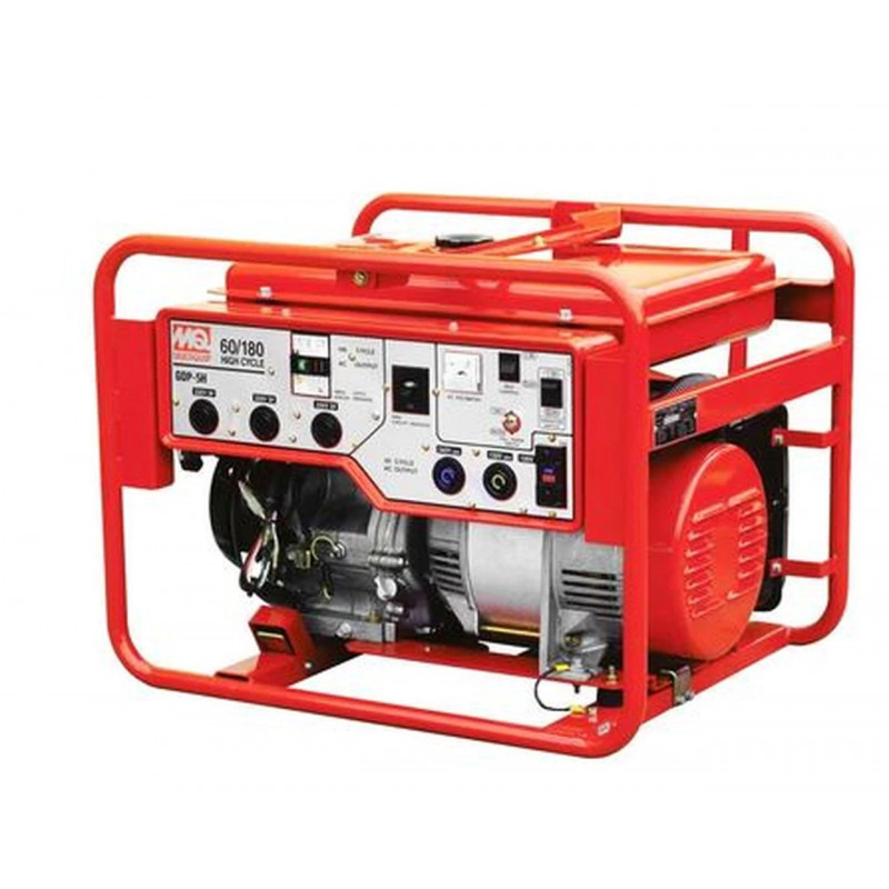 Multiquip GDP5HA - 3600 Watt 60/180 Hz Professional Portable Generator w/ Honda GX Engine