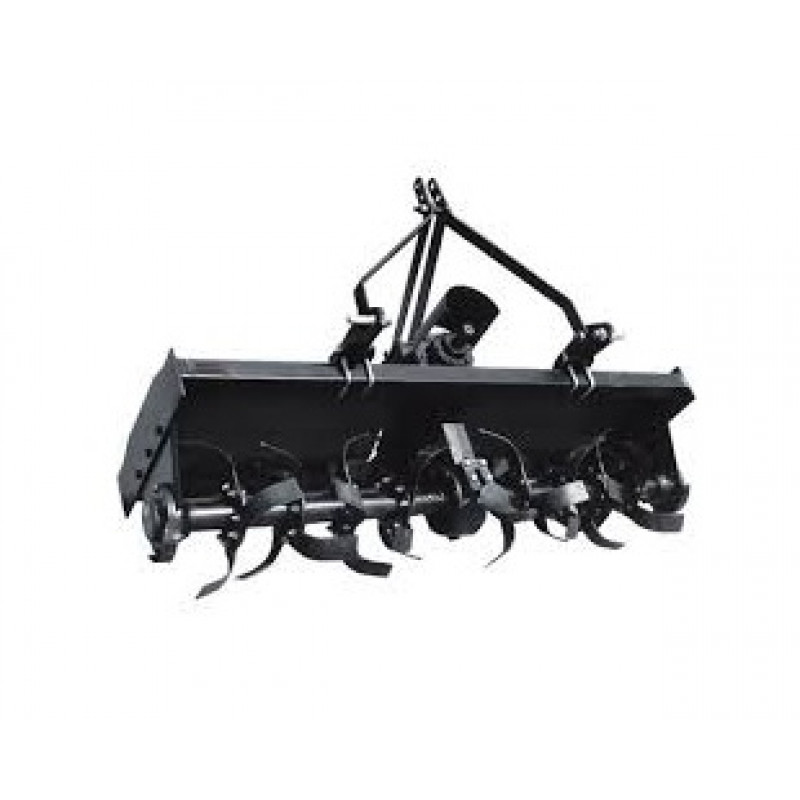 NorTrac 3-Pt PTO Rotary Tiller 63in, Category 1