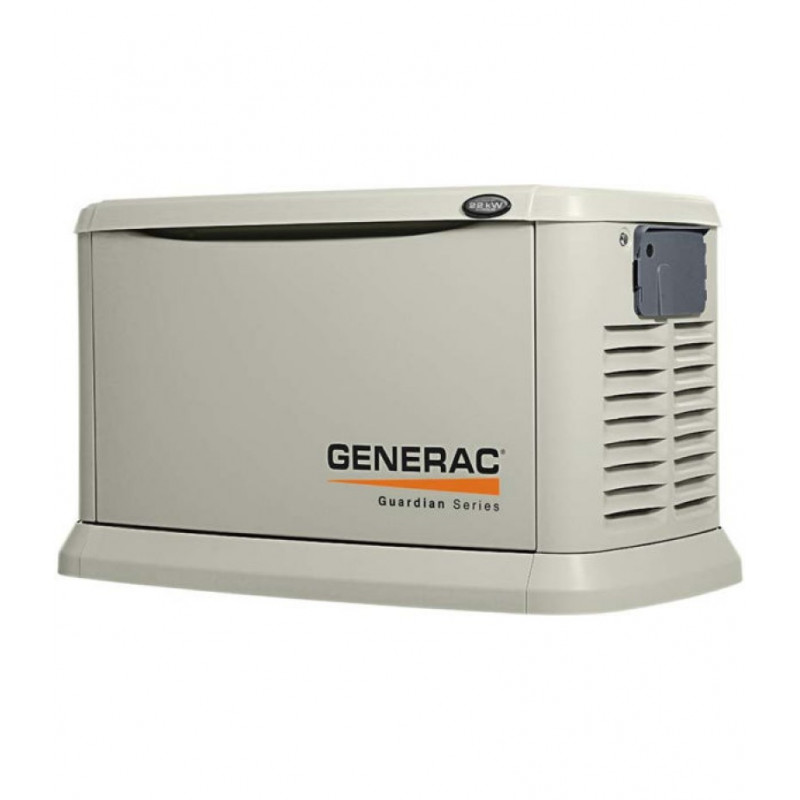 Generac Guardian 22kW Standby Generator System (200A Service Disconnect + AC Shedding) w/ Wi-Fi