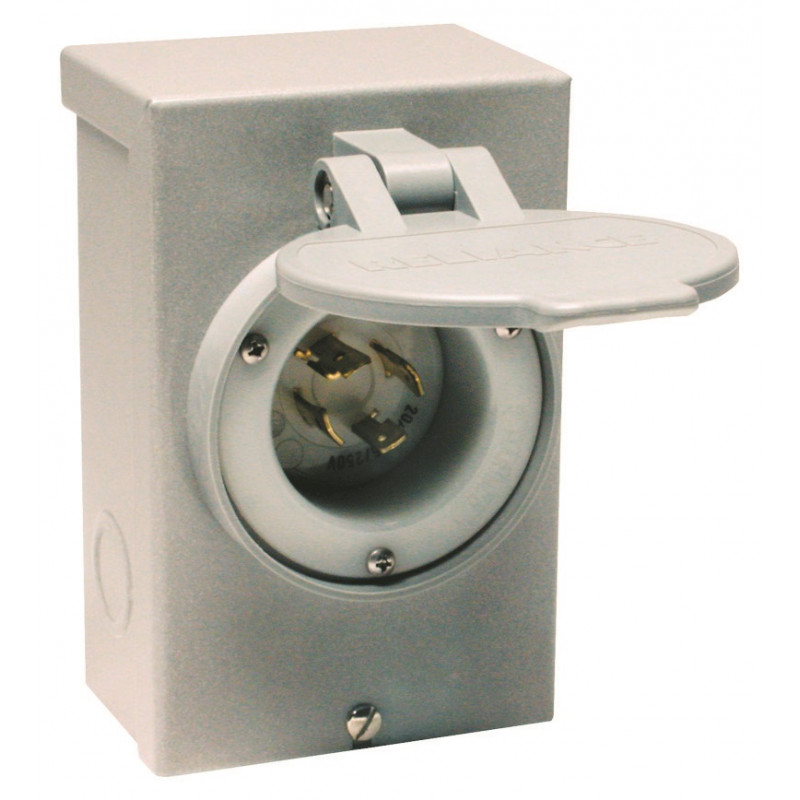 Reliance Controls 30-Amp (4-Prong) Power Inlet Box