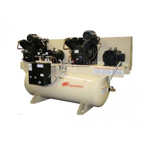 Ingersoll Rand, Air Compressor Duplex 5 HP-230 Volt 3 Phase