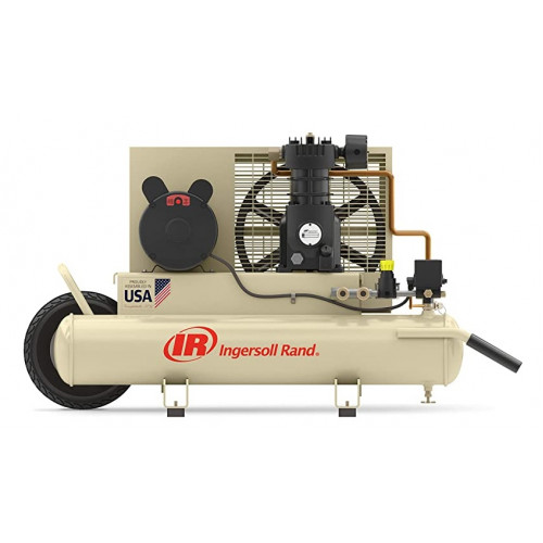 Ingersoll Rand, Electric Wheelbarrow Air Compressor 2 HP, 8-Gallon