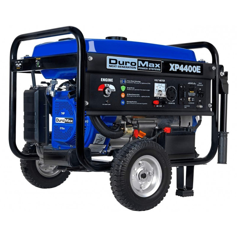 DuroMax XP4400E - 4400 Watt Electric Start Portable Generator