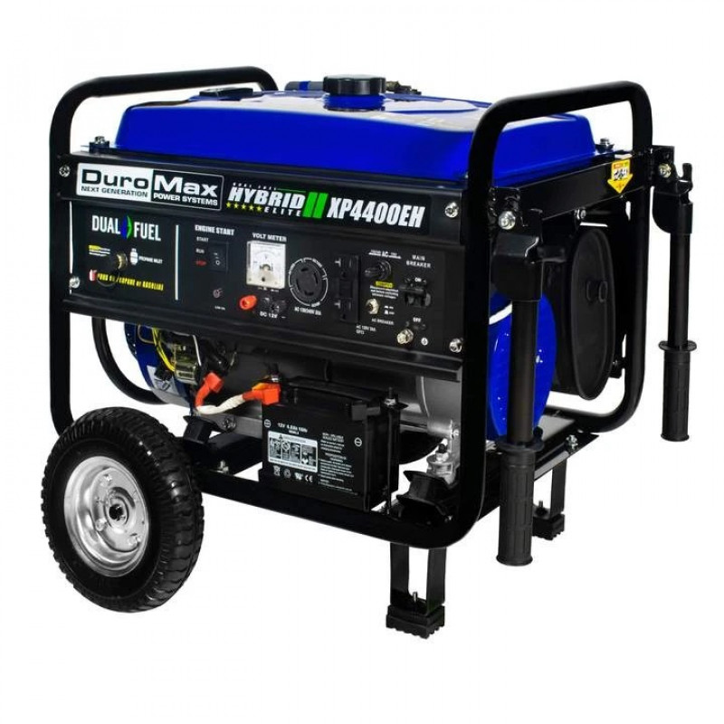 DuroMax XP4400EH 4,400-Watt Electric Start Dual Fuel Hybrid Portable Generator
