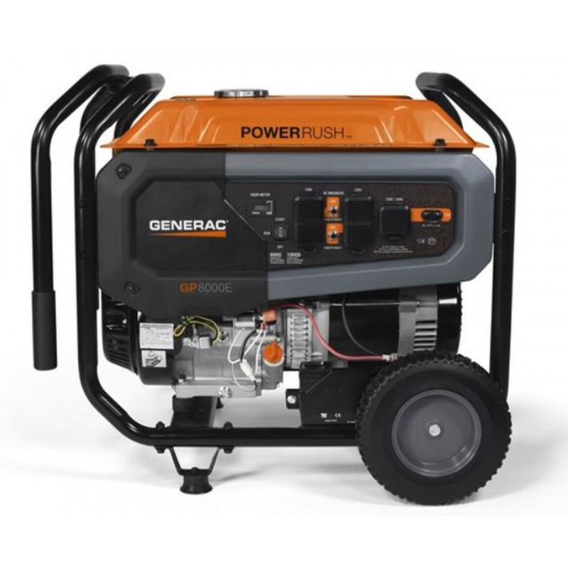 Generac GP8000E-8000 Watt Electric Start Portable Generator/49-State