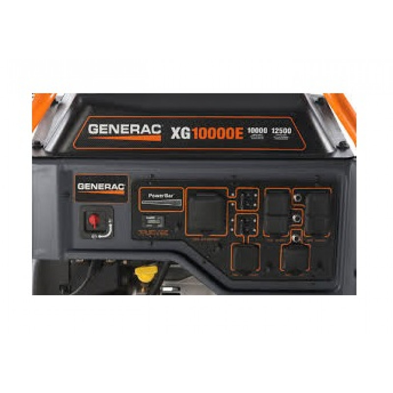 Generac XG10000E-10,000 Watt Electric Start Portable Generator