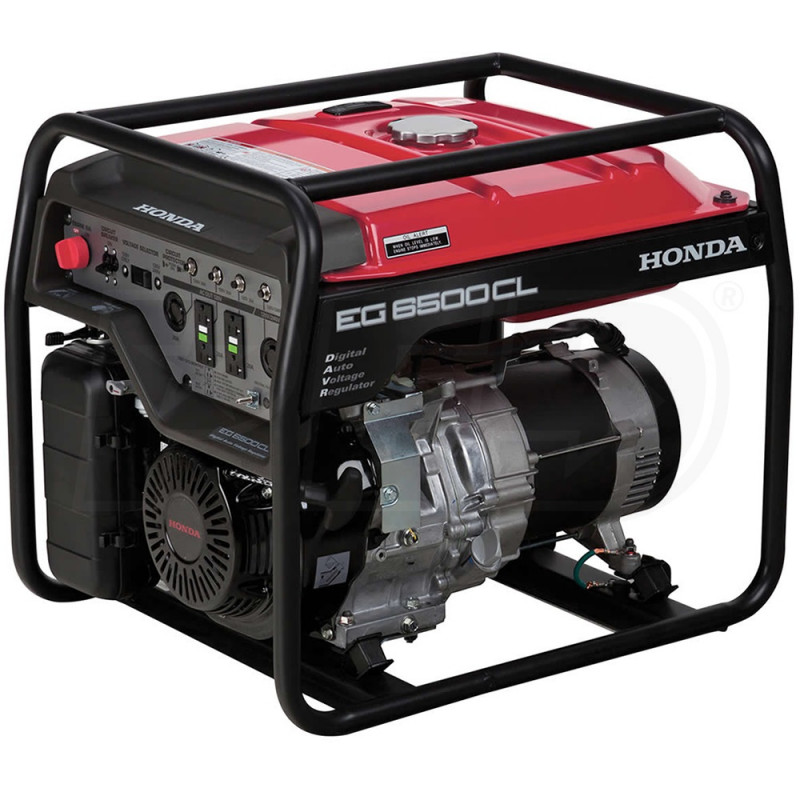 Honda EG6500CL-5500 Watt Portable Generator (CARB)