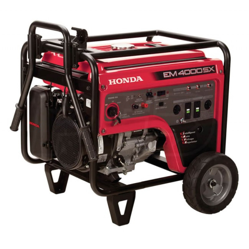 Honda EM4000-3500 Watt Electric Start Portable Generator (CARB)