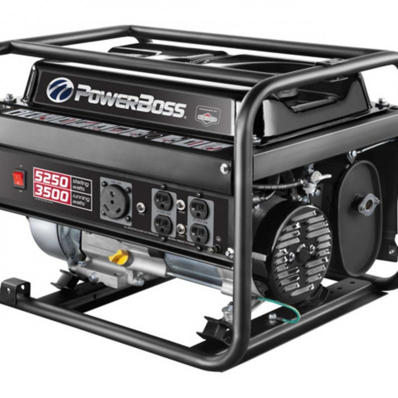 PowerBoss 30629 - 3500 Watt Portable Generator w/ RV Plug