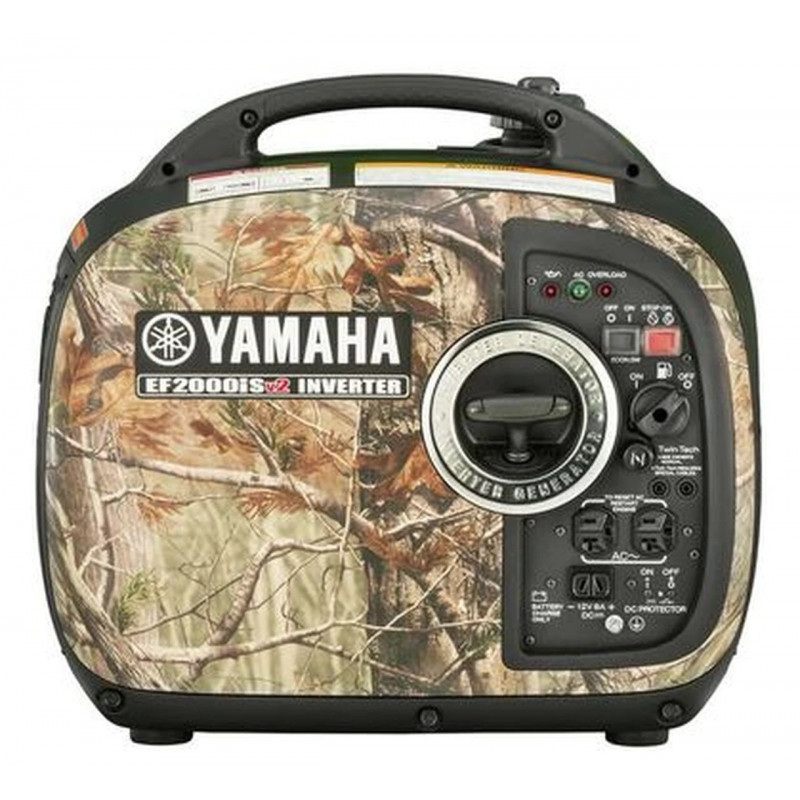 Yamaha EF2000iS CAMO-1600 Watt Inverter Generator w/ RealTree Camo