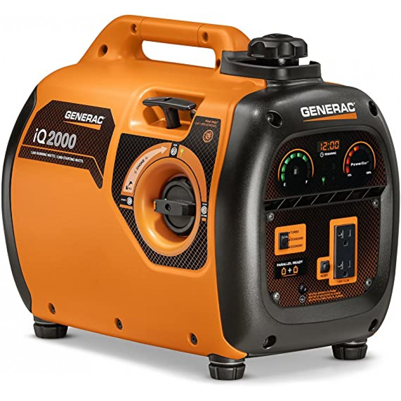 Generac iQ2000-1600 Watt Portable Inverter Generator-CARB