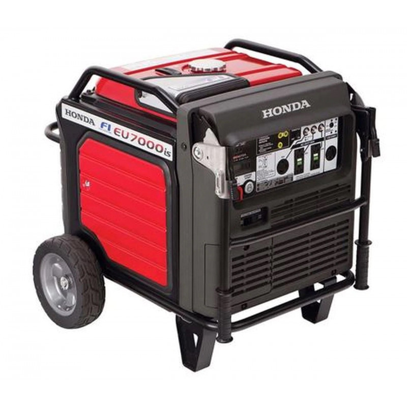 Honda EU7000is-5500 Watt Electric Start Portable Inverter Generator-CARB