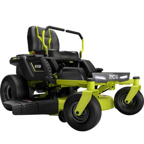 RYOBI, 48Volt-42in-100Ah Battery Electric Riding Zero Turn Mower