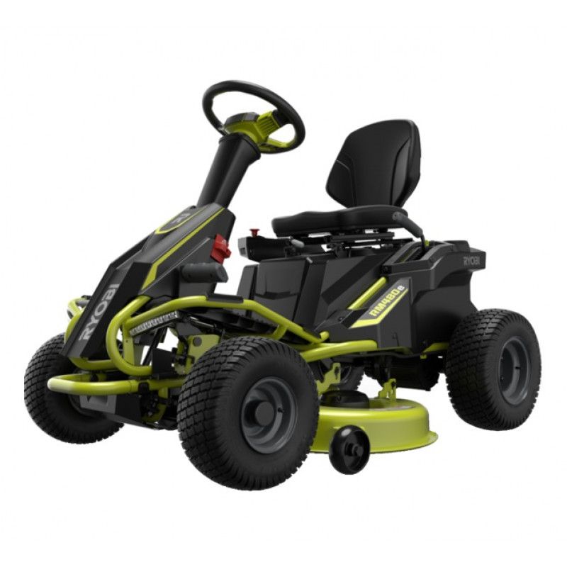 RYOBI, 48Volt-38in-75Ah Brushless Ride on Lawn Mower