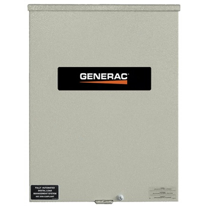 Generac RTSC-100/Amp Automatic Smart Transfer Switch w/ Power Management