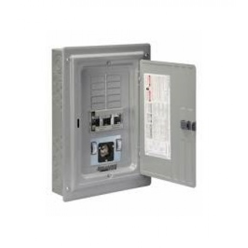 Reliance XRC1005A 3-Pole Transfer Panel With Meters & Inlet