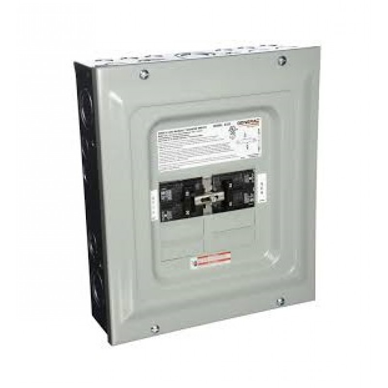 Generac 6333 - 60-Amp Single Load Indoor Manual Transfer Panel