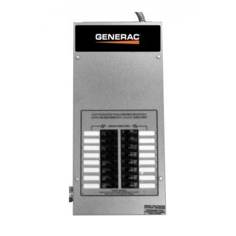 Generac 85-Amp Indoor Pre-Wired Automatic Transfer Switch w/ 16-Circuit Load Center